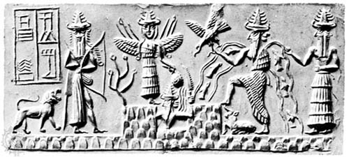 Ishtar and other Sumerian deities